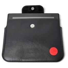 Husa tableta 10'' din piele neagra