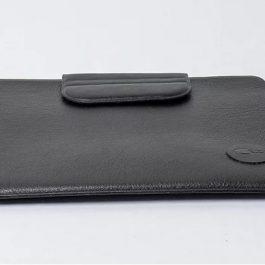 Husa tableta 13'' din piele neagra